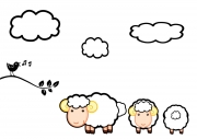 thumbs_Raamstickers_Schapen